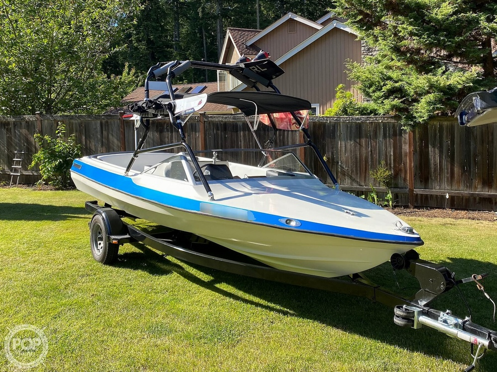 1991 Jolly Roger boat for sale, model of the boat is 18 SkiMaster & Image # 2 of 25