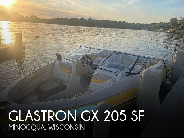2005 Glastron boat for sale, model of the boat is GX 205 SF & Image # 1 of 40