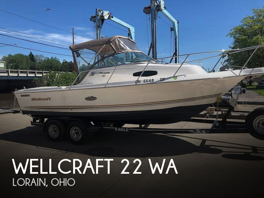 2001 Wellcraft boat for sale, model of the boat is 22 WA & Image # 1 of 4