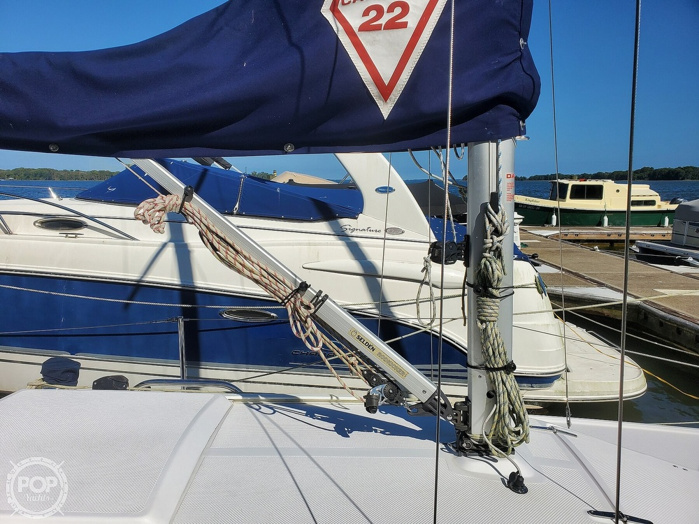 2018 Catalina Yachts boat for sale, model of the boat is 22 Sport & Image # 9 of 40