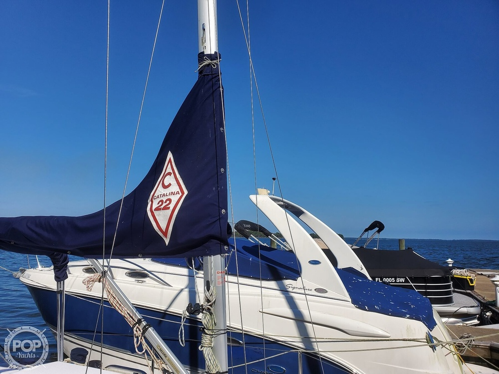 2018 Catalina Yachts boat for sale, model of the boat is 22 Sport & Image # 10 of 40