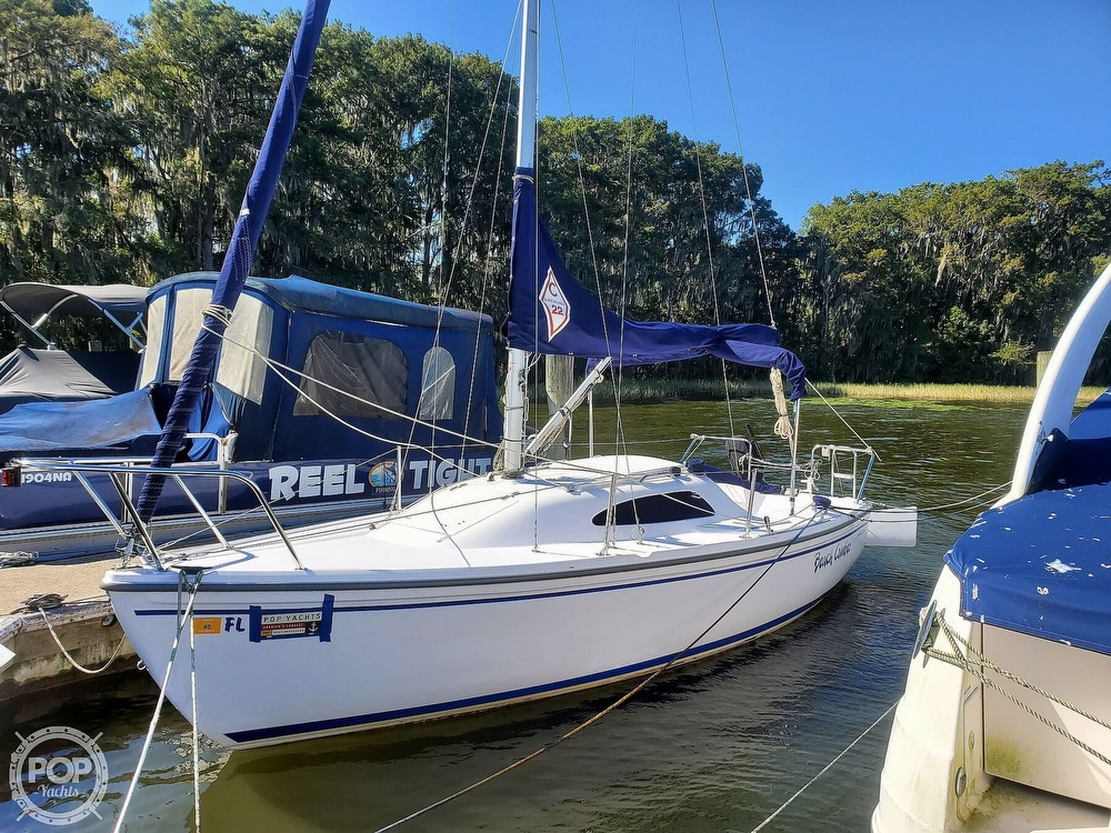 2018 Catalina Yachts boat for sale, model of the boat is 22 Sport & Image # 13 of 40