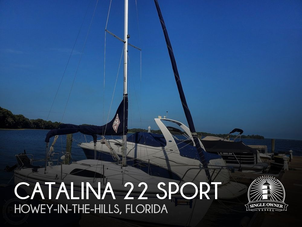 2018 Catalina Yachts boat for sale, model of the boat is 22 Sport & Image # 1 of 40