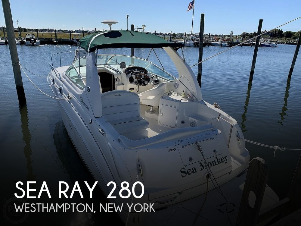 2001 Sea Ray boat for sale, model of the boat is 280 Sundancer & Image # 1 of 40