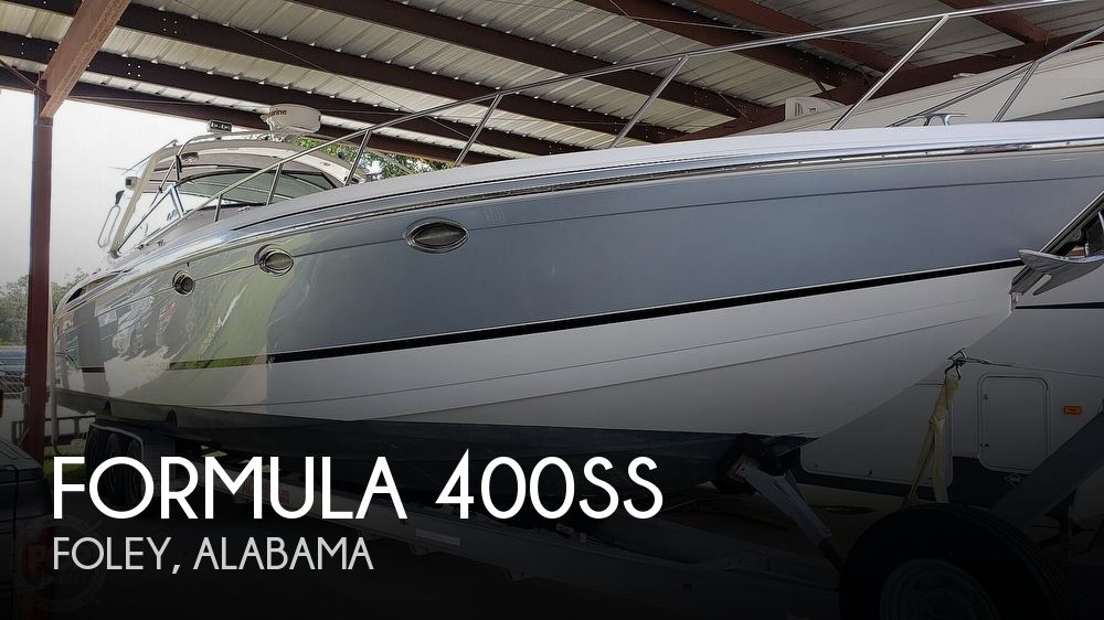 2006 Formula boat for sale, model of the boat is 400ss & Image # 1 of 40