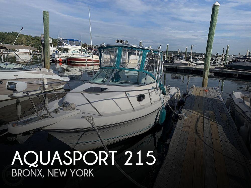 1998 Aquasport boat for sale, model of the boat is 215 Explorer & Image # 1 of 40