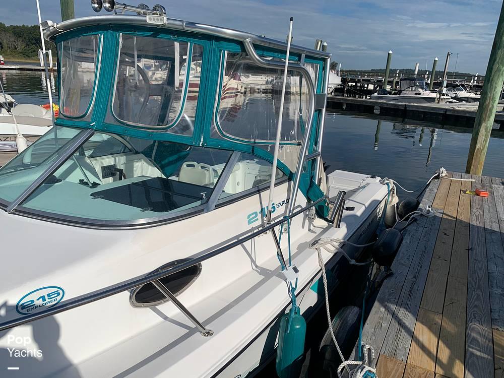 1998 Aquasport boat for sale, model of the boat is 215 Explorer & Image # 7 of 40