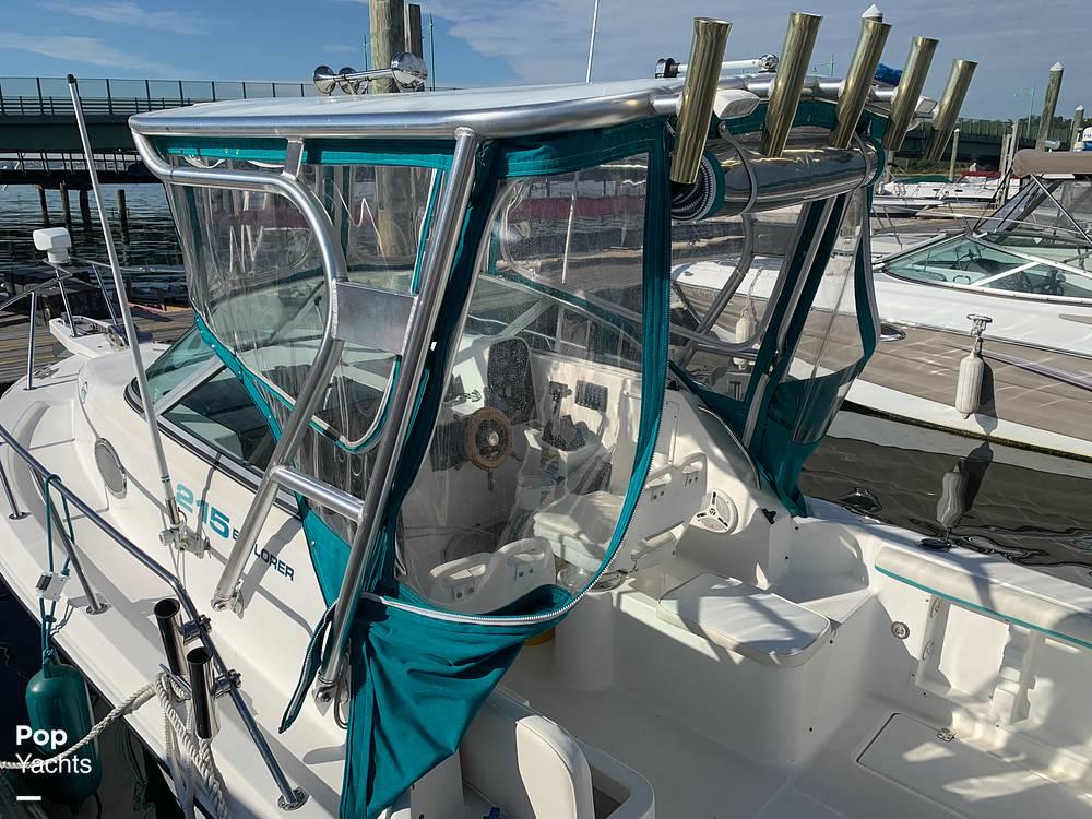 1998 Aquasport boat for sale, model of the boat is 215 Explorer & Image # 12 of 40