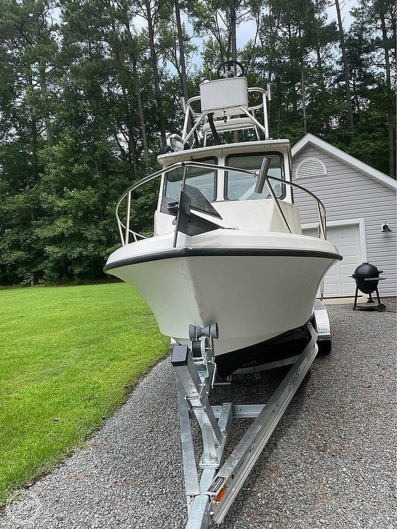 1996 May-Craft boat for sale, model of the boat is Pilot House 2300 & Image # 3 of 40