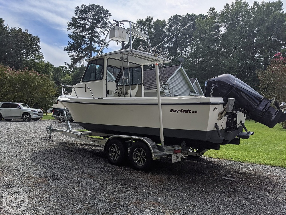 1996 May-Craft boat for sale, model of the boat is Pilot House 2300 & Image # 12 of 40