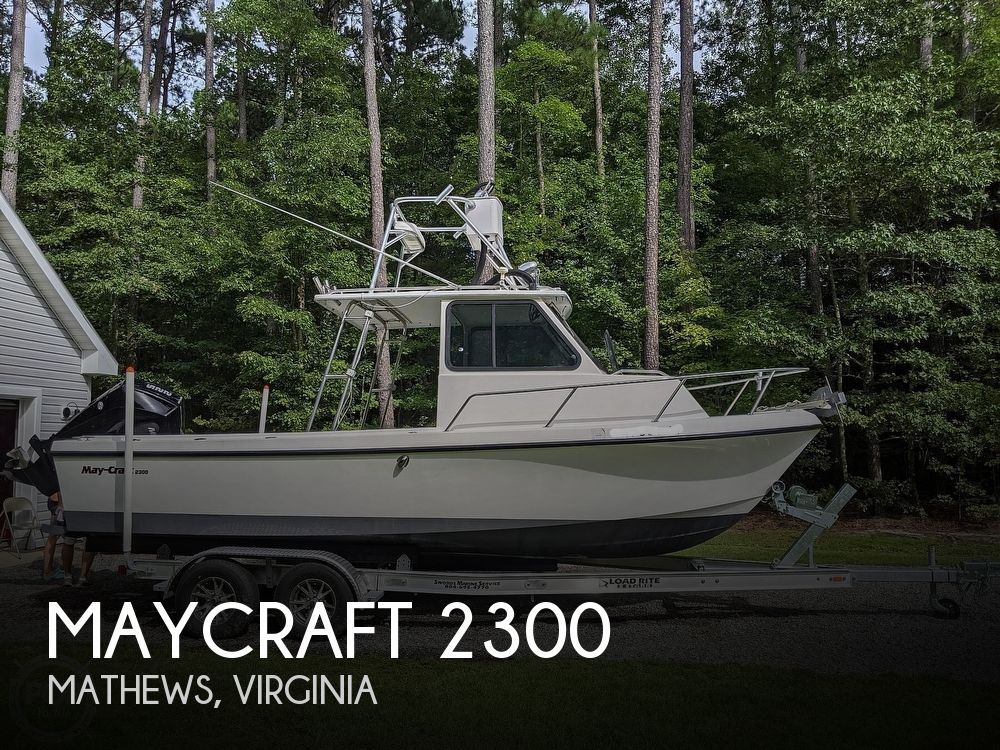 1996 May-Craft boat for sale, model of the boat is Pilot House 2300 & Image # 1 of 40