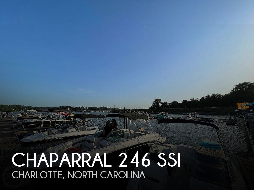 2014 Chaparral boat for sale, model of the boat is 246 SSI & Image # 1 of 1