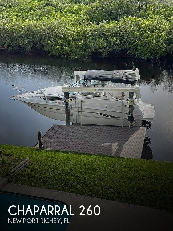2000 Chaparral boat for sale, model of the boat is Signature 260 & Image # 1 of 25