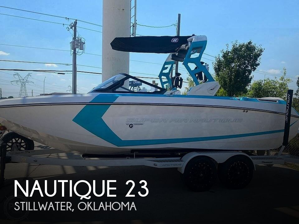Used Power boats For Sale in Oklahoma City, Oklahoma by owner   2020 Nautique Super Air G23