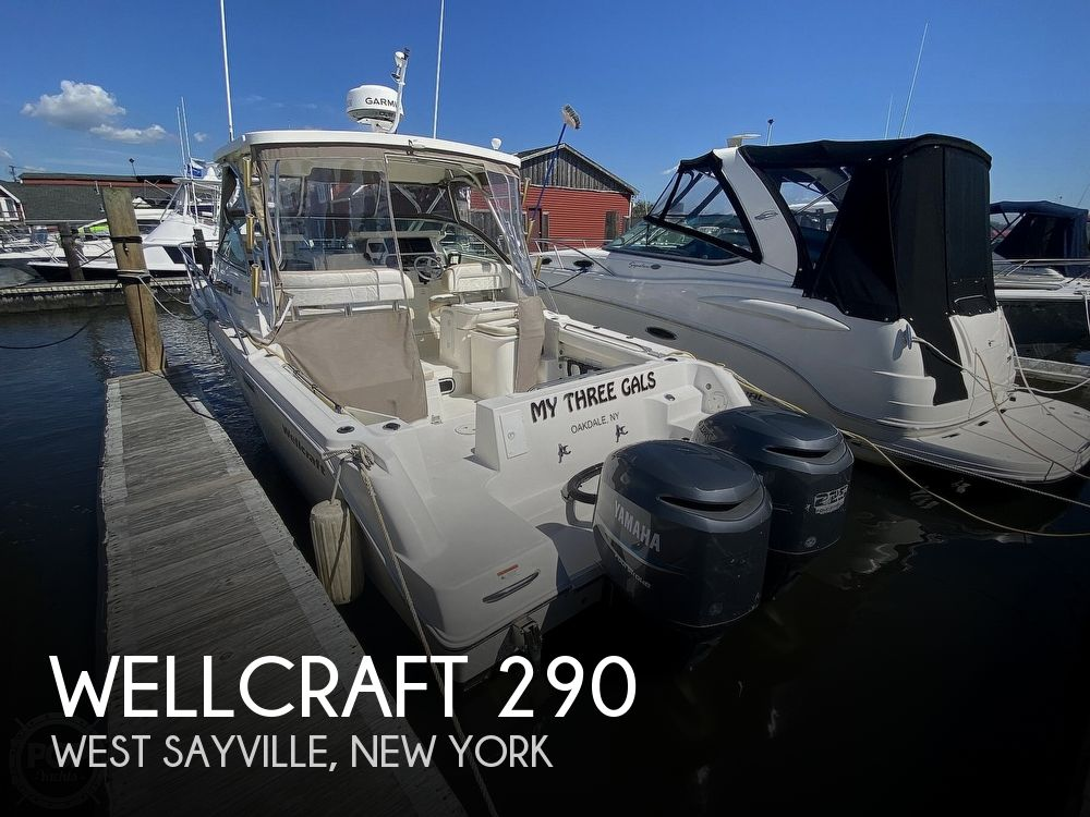 2004 Wellcraft boat for sale, model of the boat is 290 Coastal & Image # 1 of 40