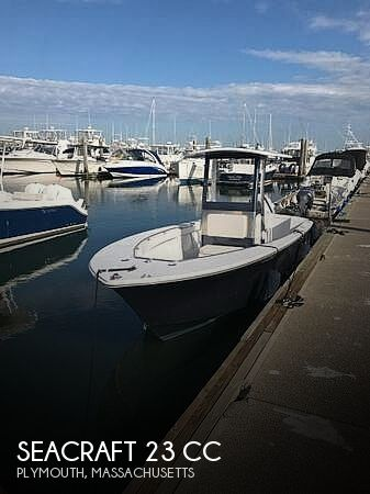 1985 Seacraft boat for sale, model of the boat is 23 cc & Image # 1 of 7