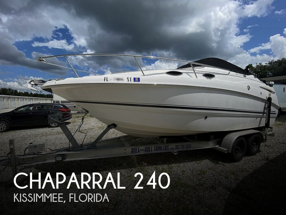2003 Chaparral boat for sale, model of the boat is 240 Signature & Image # 1 of 40