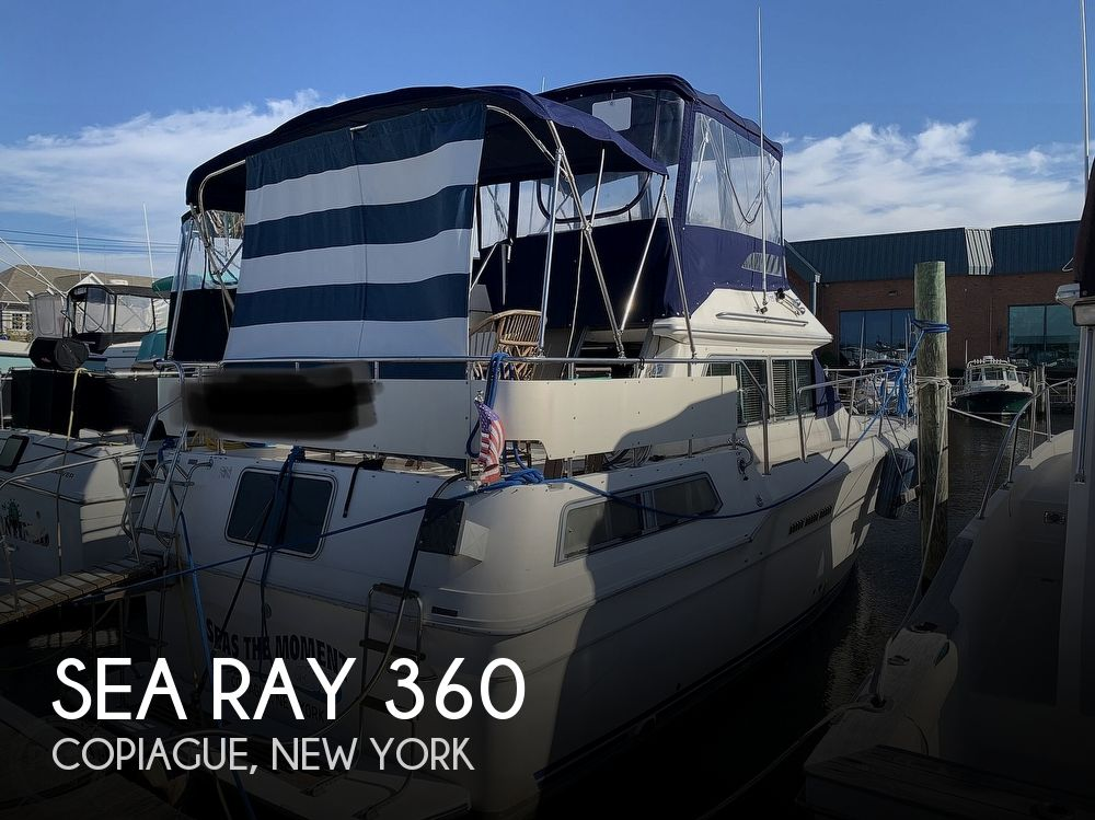 1985 Sea Ray boat for sale, model of the boat is 360 Aft Cabin & Image # 1 of 40