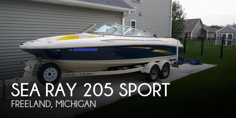 2006 Sea Ray boat for sale, model of the boat is 205 sport & Image # 1 of 40
