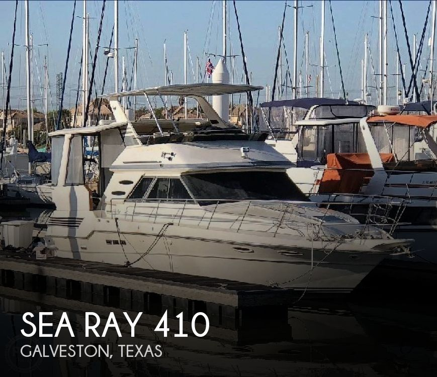 Used Power boats For Sale in Beaumont, Texas by owner   1987 Sea Ray 410 AFT Cabin