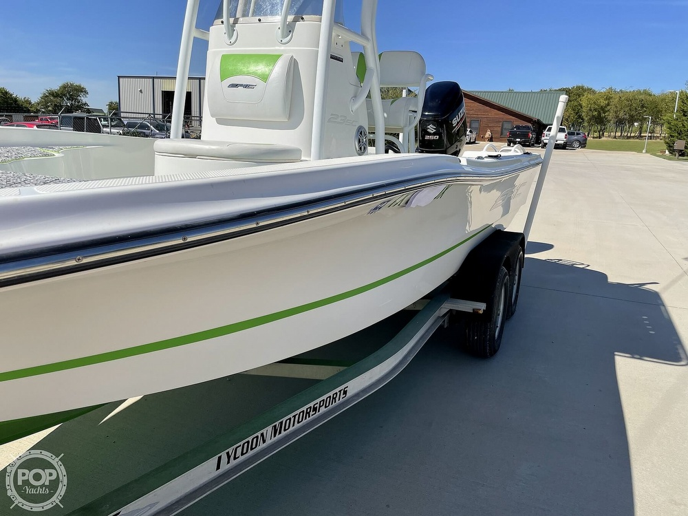 2017 Epic boat for sale, model of the boat is 23SC & Image # 24 of 40