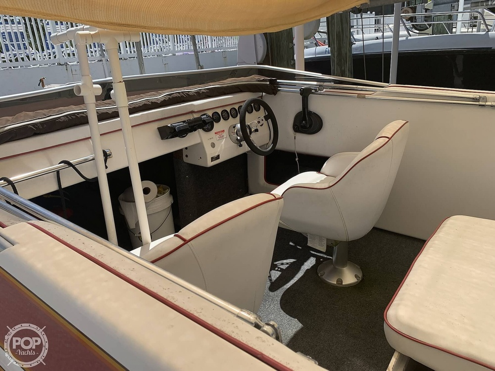 1984 Hallett boat for sale, model of the boat is 24 & Image # 40 of 40
