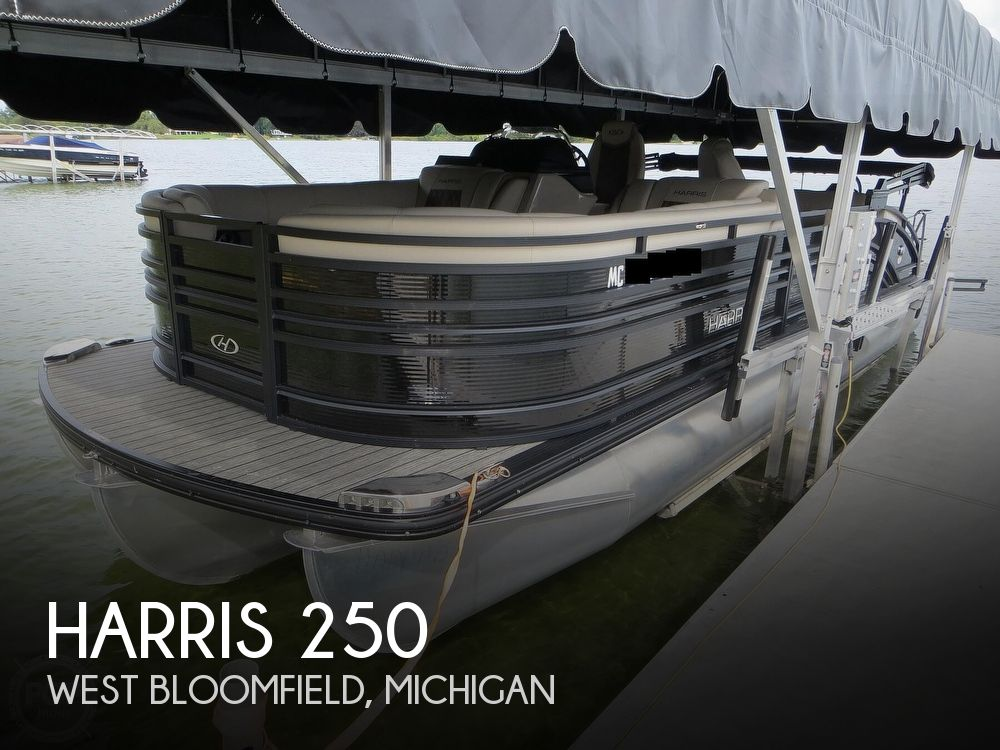 Used Harris Solstice 250 Boats For Sale in Michigan by owner | 2020 Harris Solstice 250