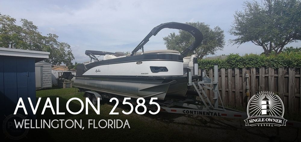 2020 Avalon boat for sale, model of the boat is Catalina 2585 Entertainer & Image # 1 of 40