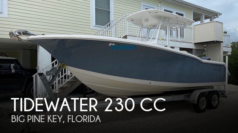 2012 Tidewater boat for sale, model of the boat is 230 cc & Image # 1 of 40