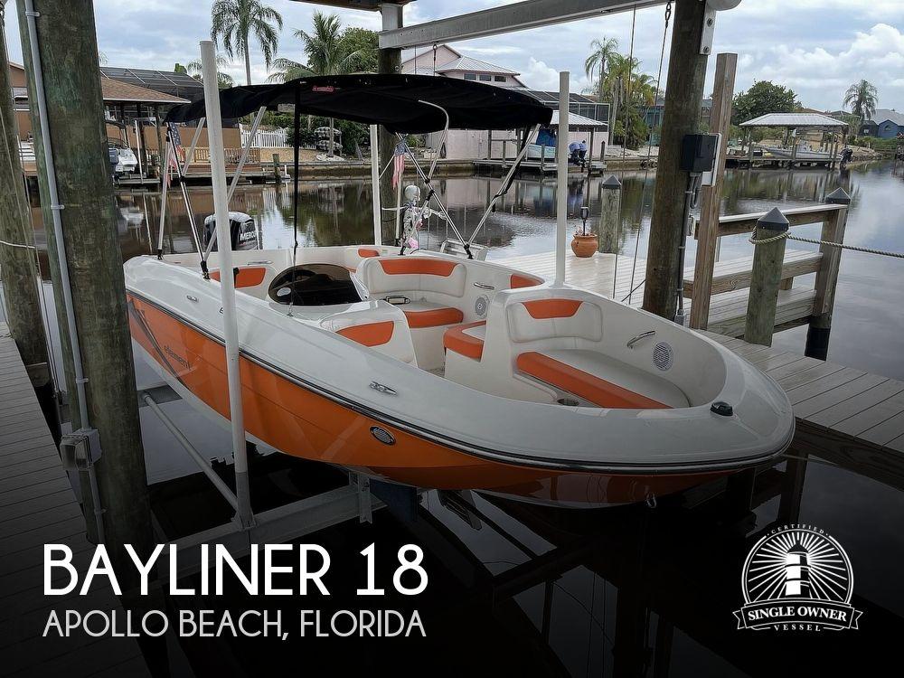2019 Bayliner boat for sale, model of the boat is Element e18 & Image # 1 of 41