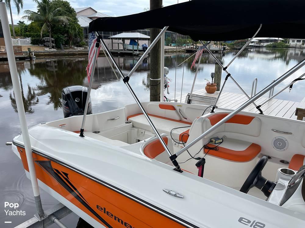 2019 Bayliner boat for sale, model of the boat is Element e18 & Image # 17 of 41
