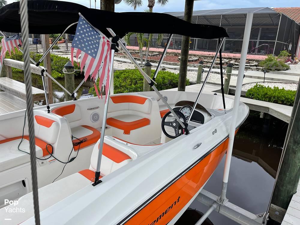 2019 Bayliner boat for sale, model of the boat is Element e18 & Image # 7 of 41