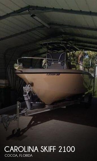 2002 CAROLINA SKIFF 2100 SEA CHASER for sale
