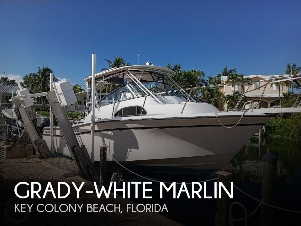 2001 Grady-White boat for sale, model of the boat is Marlin & Image # 1 of 40