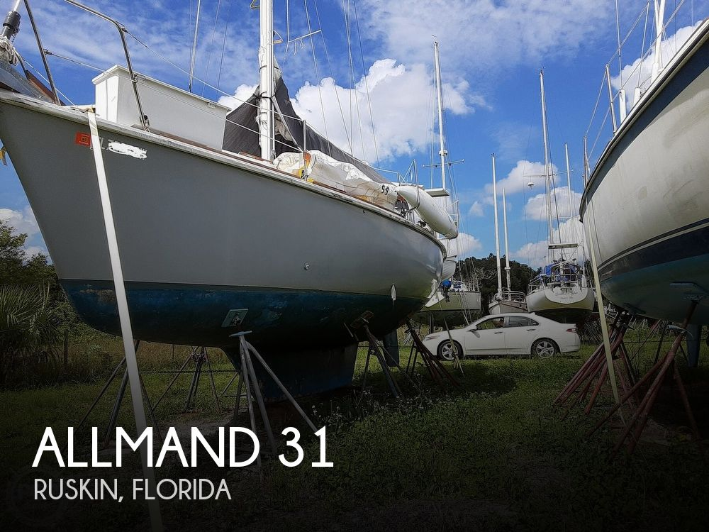 1981 Allmand boat for sale, model of the boat is 31 & Image # 1 of 40