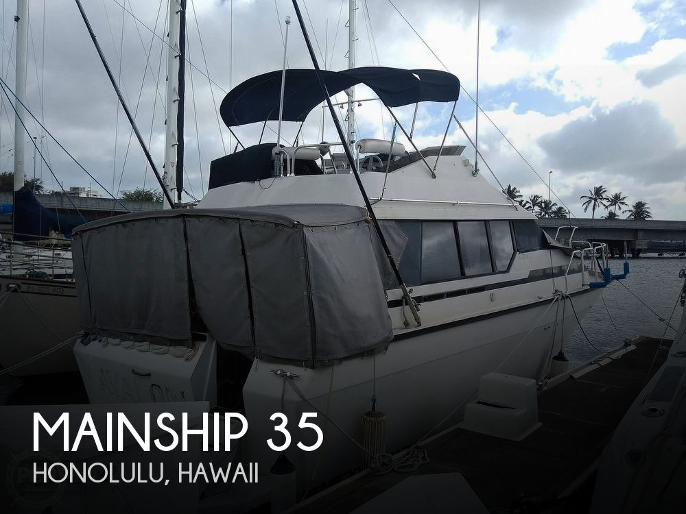 1988 Mainship boat for sale, model of the boat is MEDITERRANEAN 35 & Image # 1 of 40
