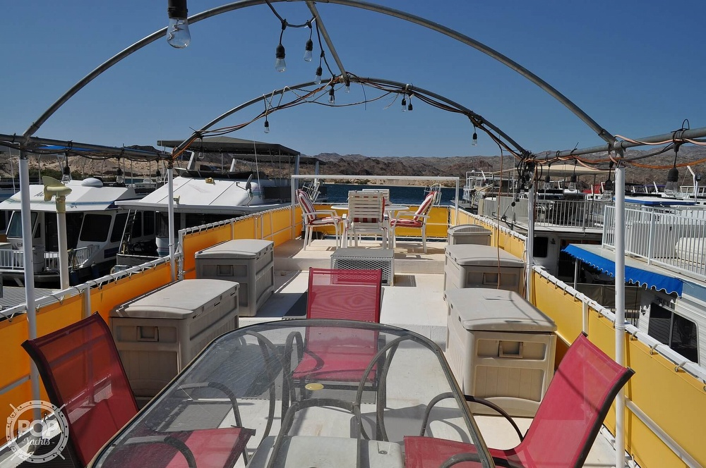 1976 Harris boat for sale, model of the boat is 46' Steel Pontoon Houseboat & Image # 22 of 40