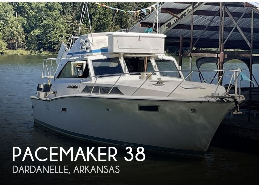 1972 Pacemaker boat for sale, model of the boat is 38 & Image # 1 of 40