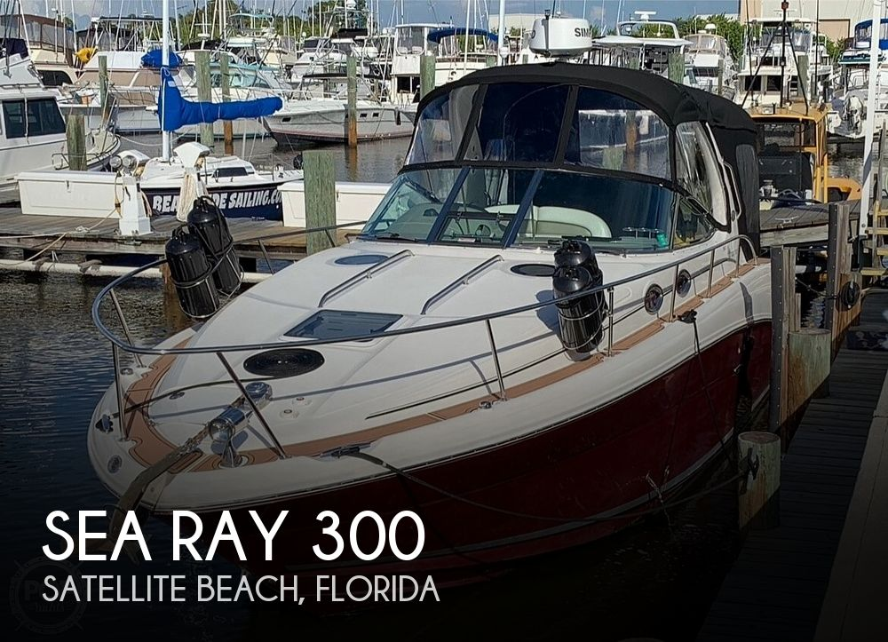 2007 Sea Ray boat for sale, model of the boat is 300 Sundancer & Image # 1 of 38