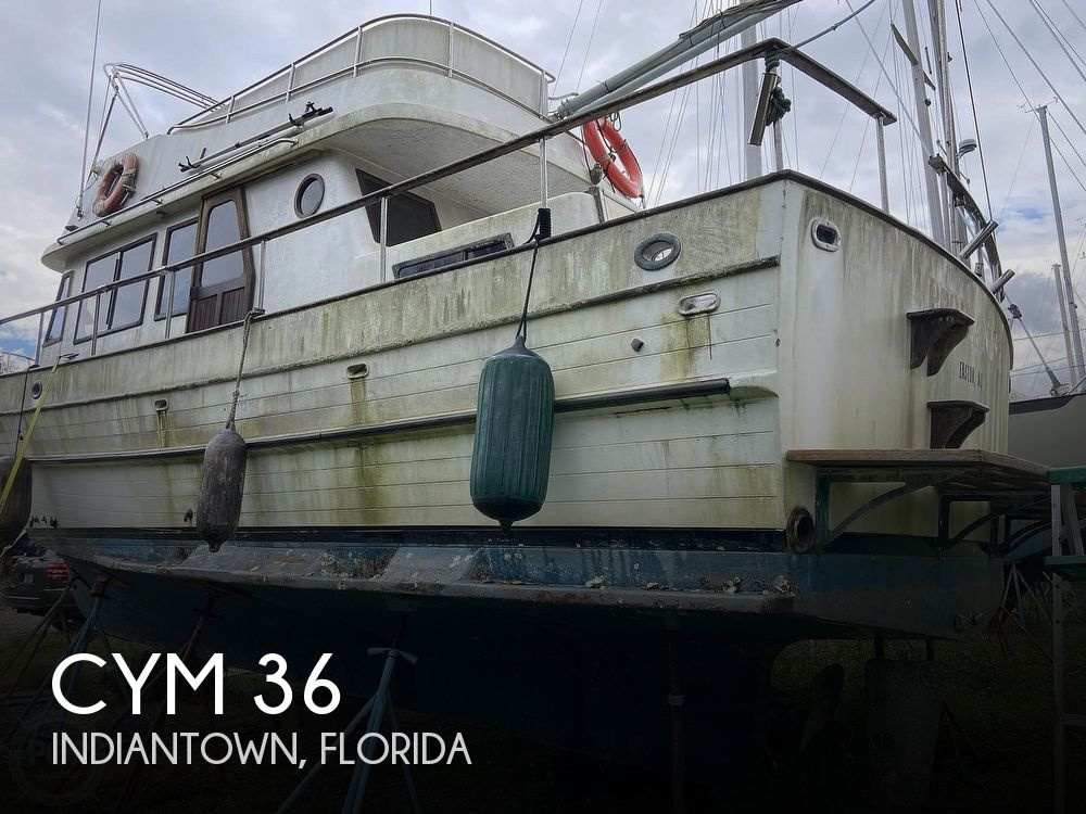1981 CYM boat for sale, model of the boat is 36 & Image # 1 of 40