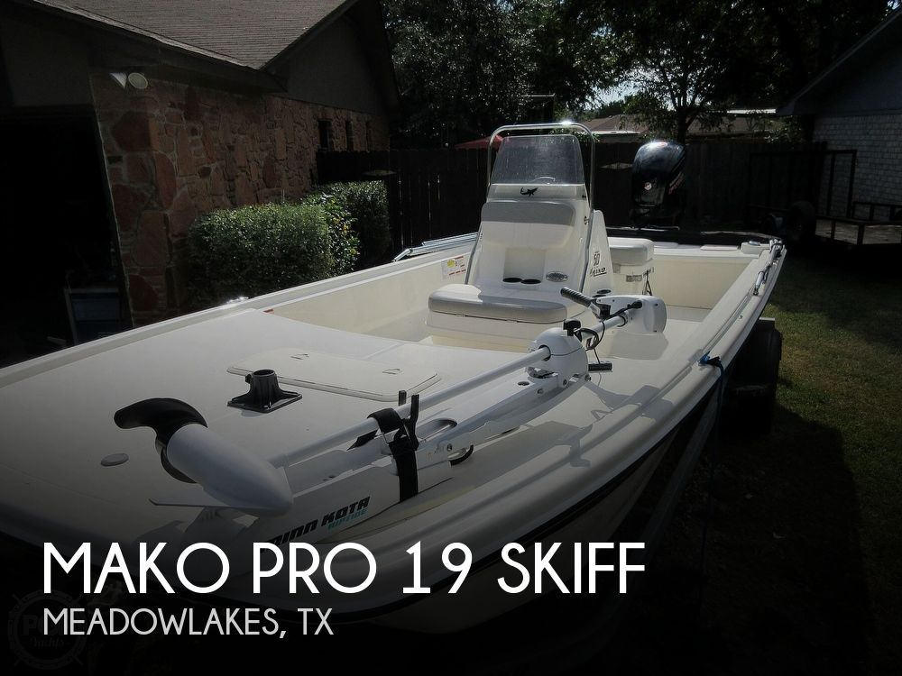 2018 Mako boat for sale, model of the boat is Pro 19 Skiff & Image # 1 of 40