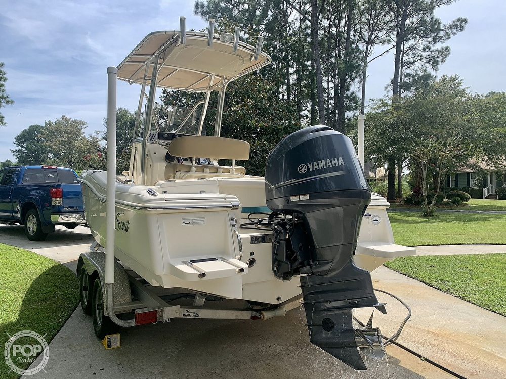 2015 Scout boat for sale, model of the boat is 210XSF & Image # 17 of 40