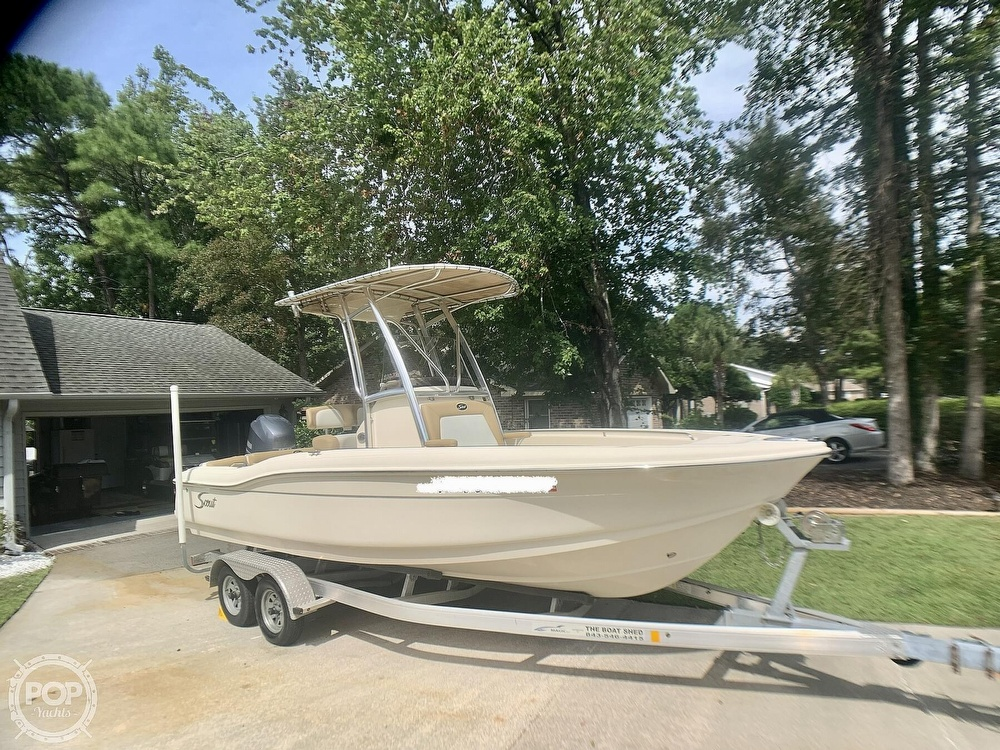 2015 Scout boat for sale, model of the boat is 210XSF & Image # 2 of 40