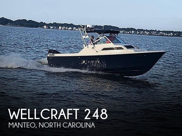 1984 Wellcraft boat for sale, model of the boat is 248 & Image # 1 of 25