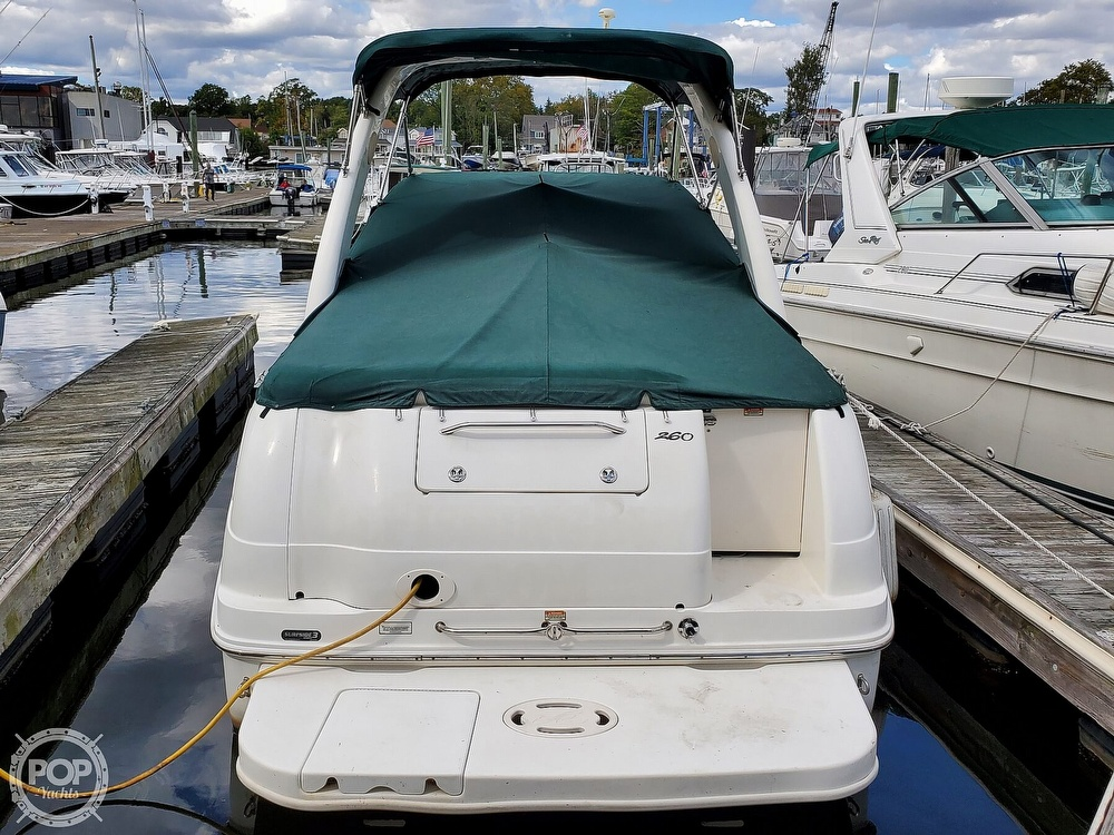 2003 Sea Ray boat for sale, model of the boat is 260 Sundancer & Image # 6 of 40