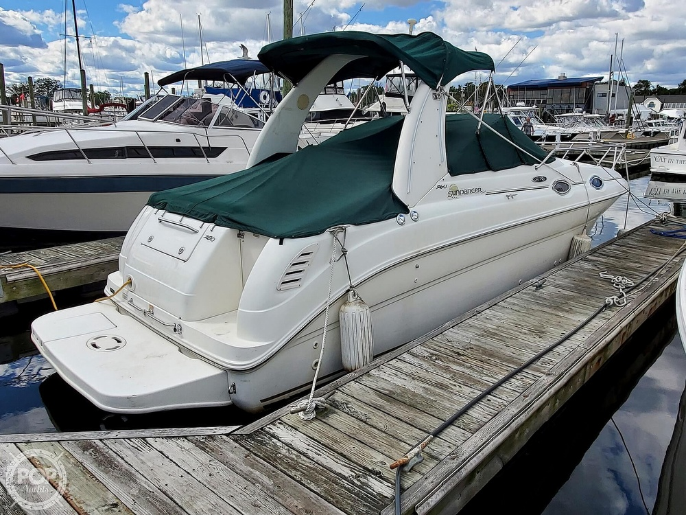 2003 Sea Ray boat for sale, model of the boat is 260 Sundancer & Image # 2 of 40