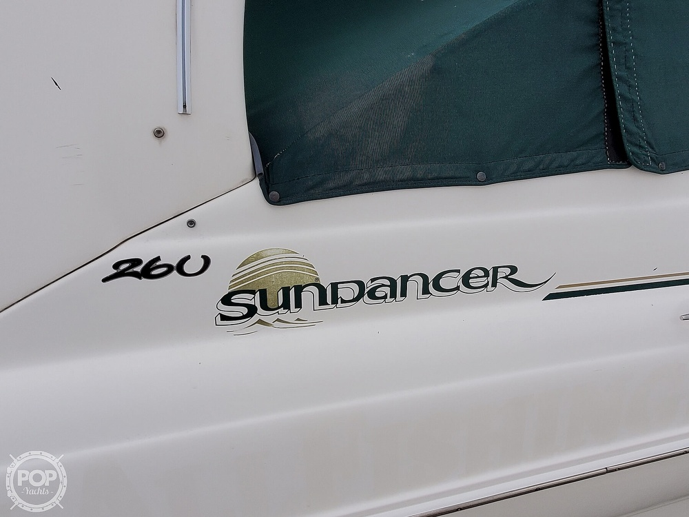 2003 Sea Ray boat for sale, model of the boat is 260 Sundancer & Image # 8 of 40