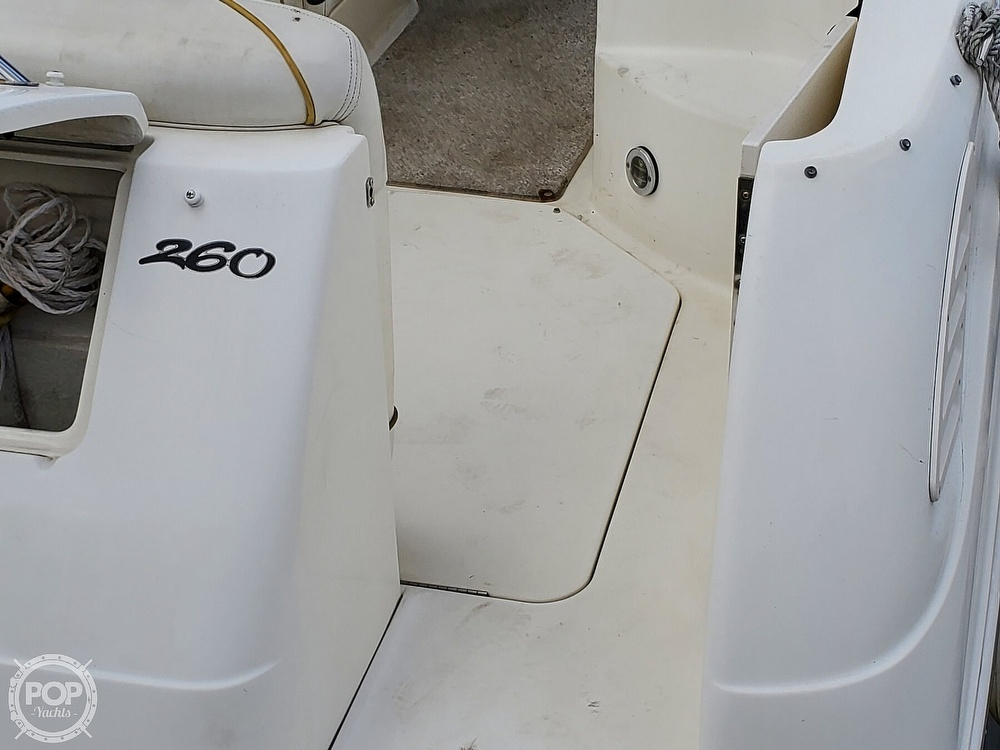 2003 Sea Ray boat for sale, model of the boat is 260 Sundancer & Image # 27 of 40