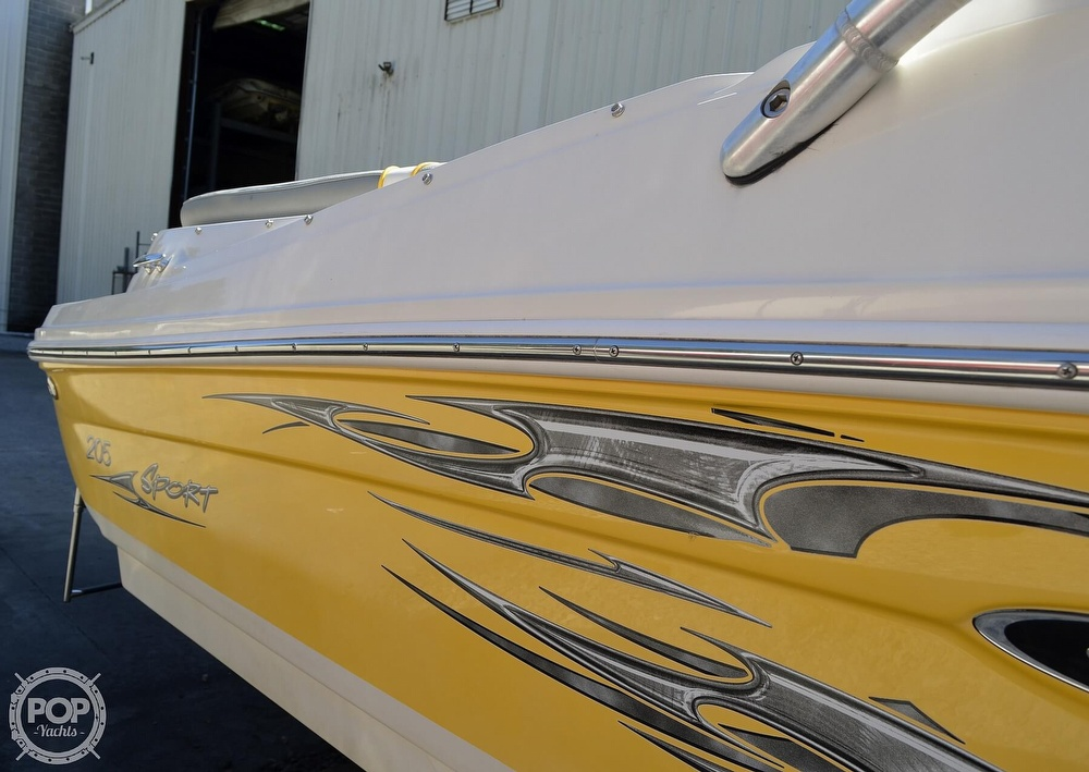 2008 Sea Ray boat for sale, model of the boat is 205 Sport & Image # 25 of 40
