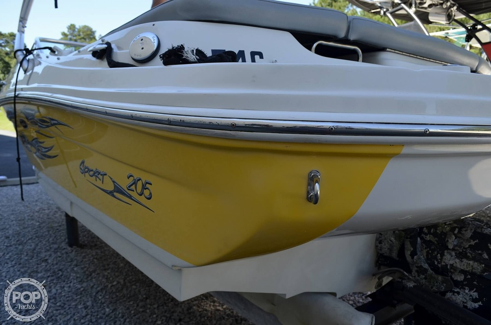 2008 Sea Ray boat for sale, model of the boat is 205 Sport & Image # 27 of 40